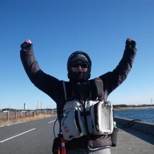 今年初の富津釣行!かわいい釣りドルも同行!前日編