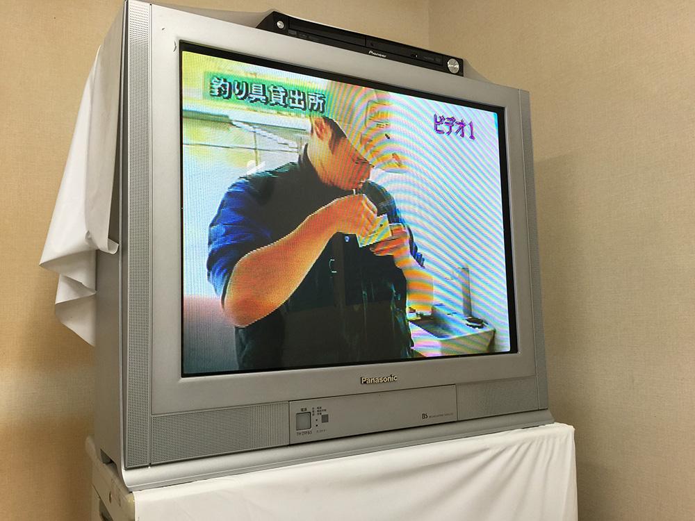 レアなテレビで見る講習動画