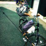 【荒川シーバス2017】臨時収入的フリータイム!自転車でシーバスを探す釣りロマン!