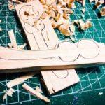 【荒川シーバス2017】ライターイシザキ考案シメジルアーのウッドバージョン製作開始!