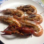 【料理&実食】へ?食っちゃうんだ・・・。赤エビことザリガニ、ザリガニこと赤エビを実食!