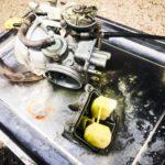 【バイクで行く釣りの旅】キャブレターオーバーホールしたけど。。。ガソリンドバー!