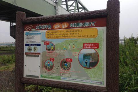 【荒川釣り場(江戸川区小松川)】小松川干潟でドロンコになろう!ロックゲート〜船堀橋を散策。