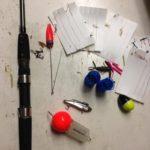 若洲の釣り具「ゴミ」で福武装。閉場間近の釣り施設で宝物探し♪