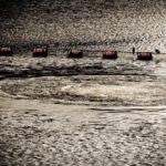 【荒川シーバス2018】超絶ドM!自作ルアー緊縛フィッシングで水柱連発!突如開いたモーゼの穴、その正体は…