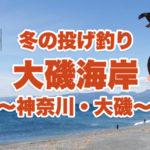 【神奈川の釣り】伊藤博文…大隈重信…吉田茂…「政界の奥座敷」冬の大磯でしつこく投げ釣り!大磯の魅力紹介もあるよ♪