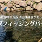 【新潟県】釣れない青物キャンプの帰りは湯沢フィッシングパークで覚醒!