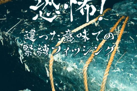 【荒川シーバス2019】デオコの香りをかき消す腐臭。。。ロープで巻かれた謎の箱を発見。。。