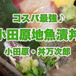 【丼万次郎】小田原で新鮮な地魚丼を食べられるお店はここ! コスパ最高でお寿司も定食もあるよ♪